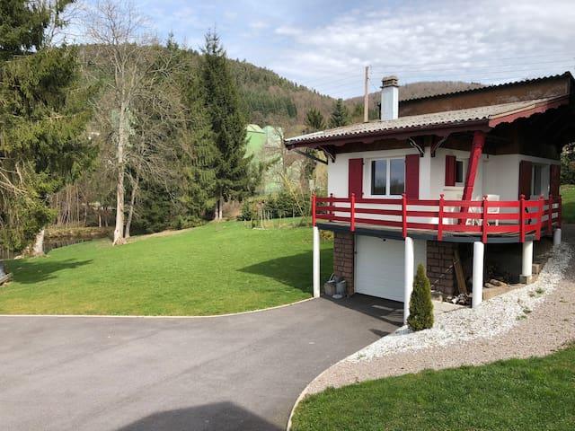 Chalet indépendant de 35 m² avec terrasse