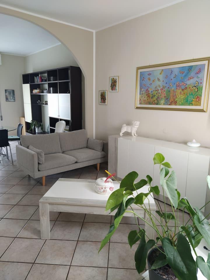 Appartamento a 400m dal Porto Canale Leonardesco