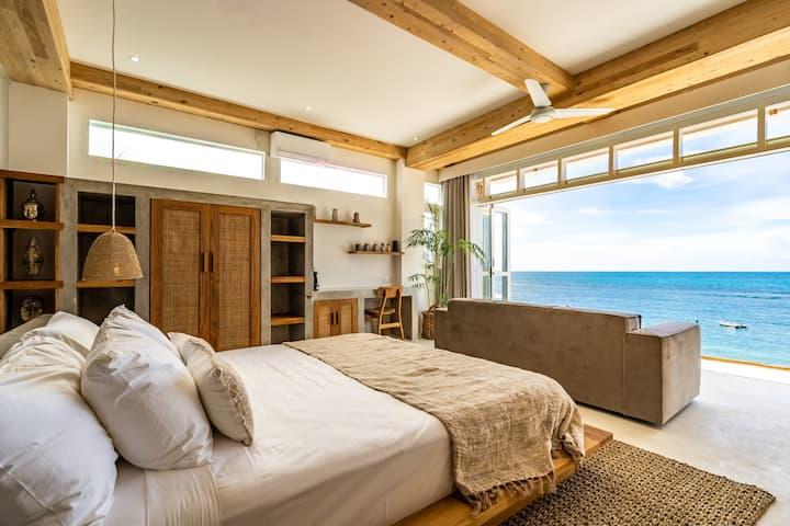 Suite 1 - Absolute beachfront on Bingin Beach