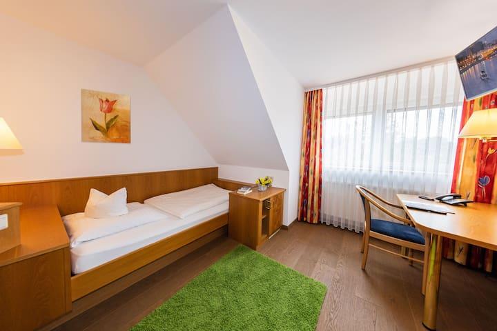 Gasthof - Hotel zum Ochsen, (Berghülen), Economy Einzelzimmer mit Dusche und WC