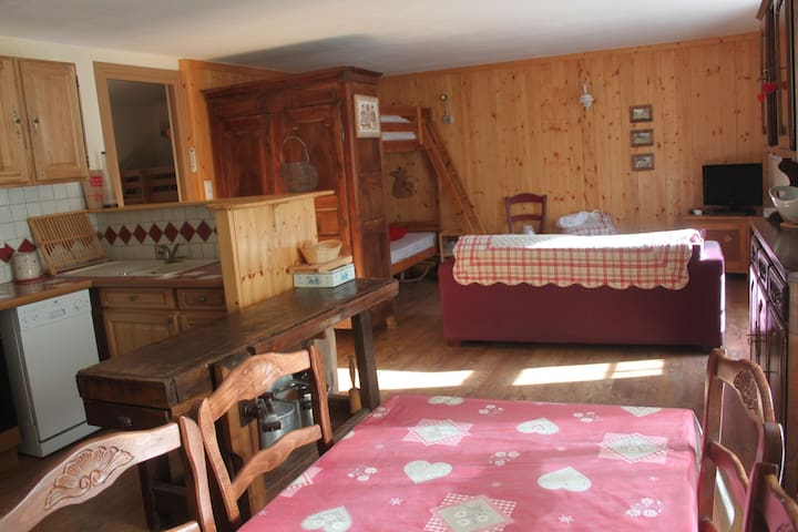 "Appartement ""relais du mont Viso"" - Abries - Apartmen"