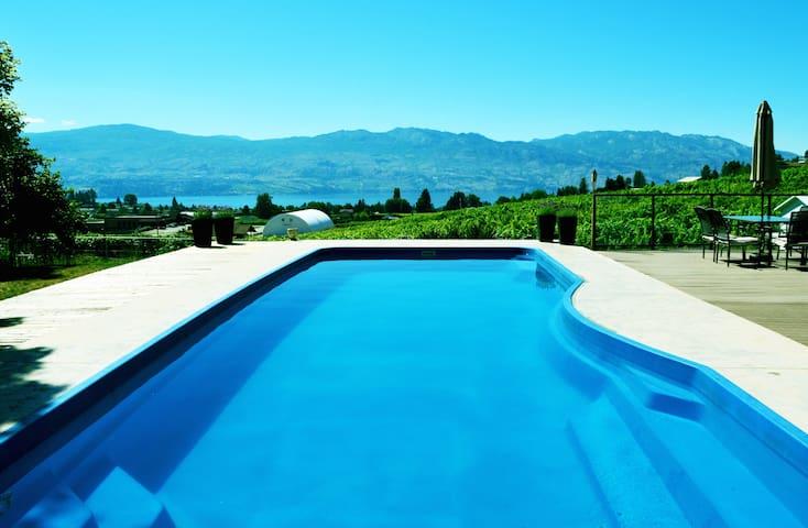 Casa Kelowna: Pool, Hot Tub, 5 Bedrooms - West Kelowna - Casa
