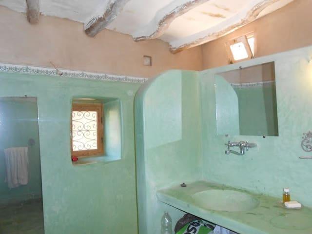 Très charmante maison de terre - Douar Nouaji Tehtania - Casa