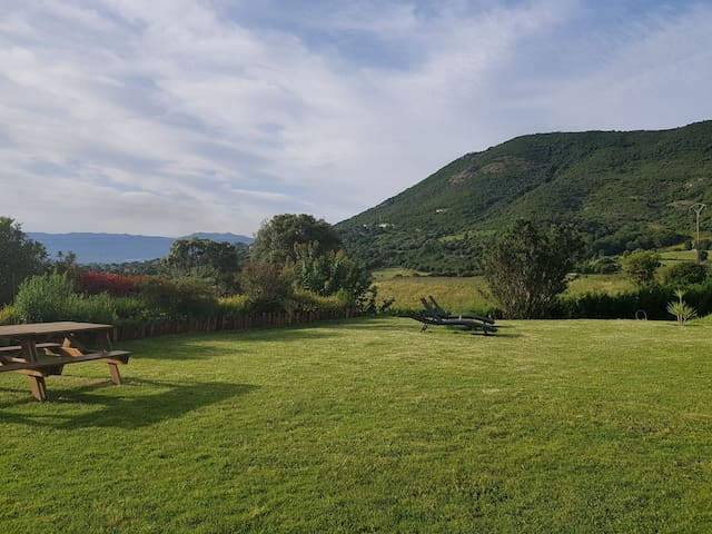 Villa proche Ajaccio fin août 2020