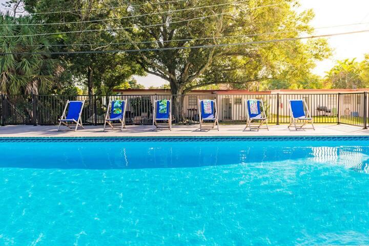 #5: Heated Pool & Kid Friendly