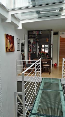 Zugang im 2. Obergeschoss