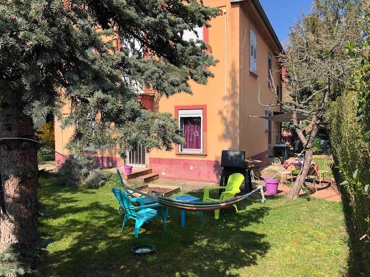 Joli T3 avec jardin et terrasse