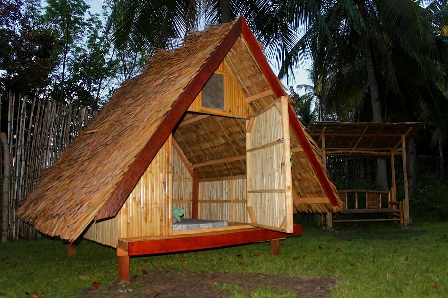 Archery-Asia Bamboo Tents Archery-Asia Bamboo Tents & Archery-Asia Bamboo Tent Moalboal - Huts for Rent in PH Philippines