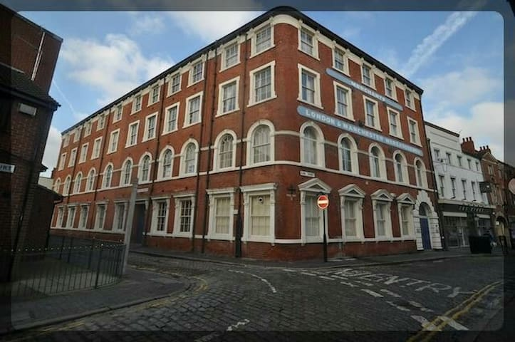 Merchants Apartments. Old Town. Secure Parking!!!! - Hull - Apartment