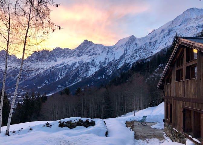 Unique snowcat access, ski in ski out chalet