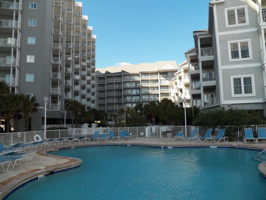 Seawatch Resort 1 Bedroom Ocean View Lazy River Condominiums For Rent In Myrtle Beach South