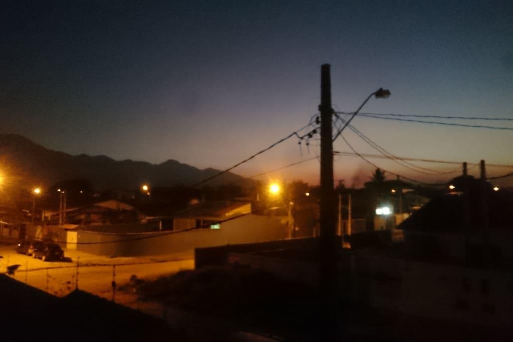 Vista da Sacada da Suíte master no fim de tarde!