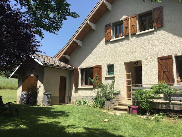 Clelles, Longefonds, maison avec vue