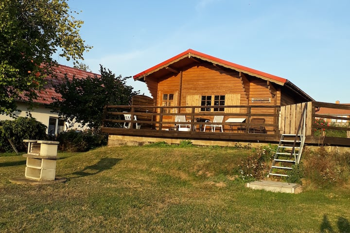 Holzhaus am See