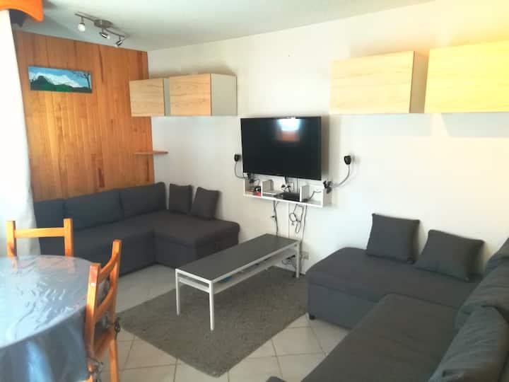 Appartement 4/6 personnes - Au pied des remontées