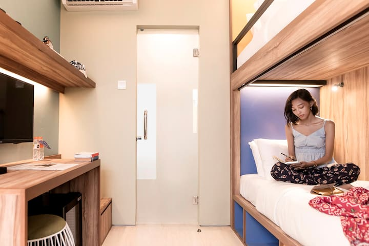 Recomended Bunks room private in Kuta Beach