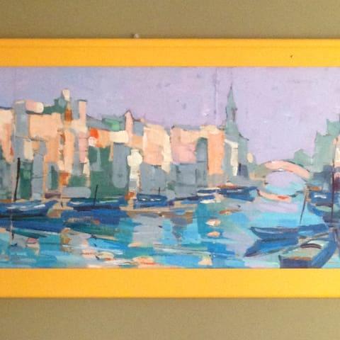 Casa della Fra....tra mare e laguna - Chioggia - Apartamento