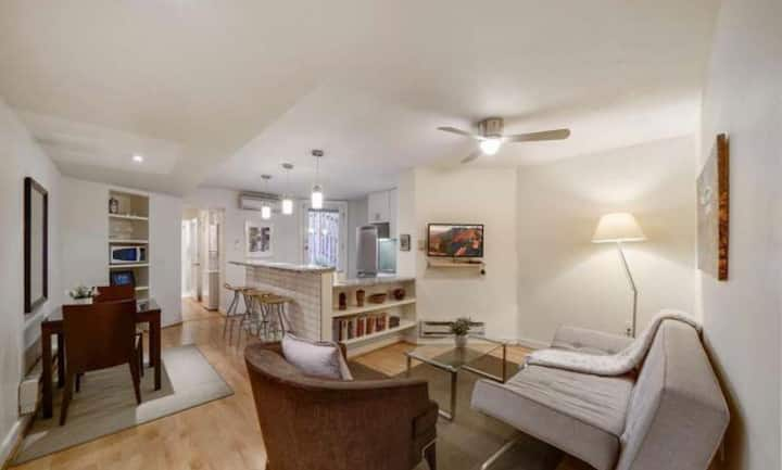 1,000sf 1BR Apt w/ Laundry in Columbia Heights