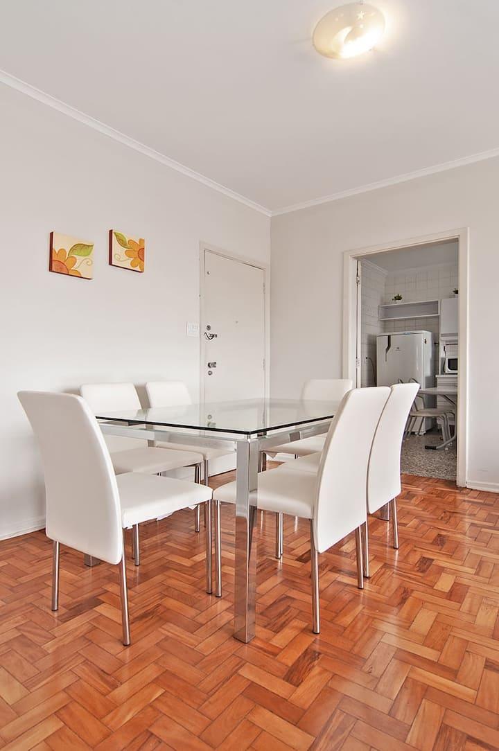 Apartamento aconchegante no Centro de Campinas.