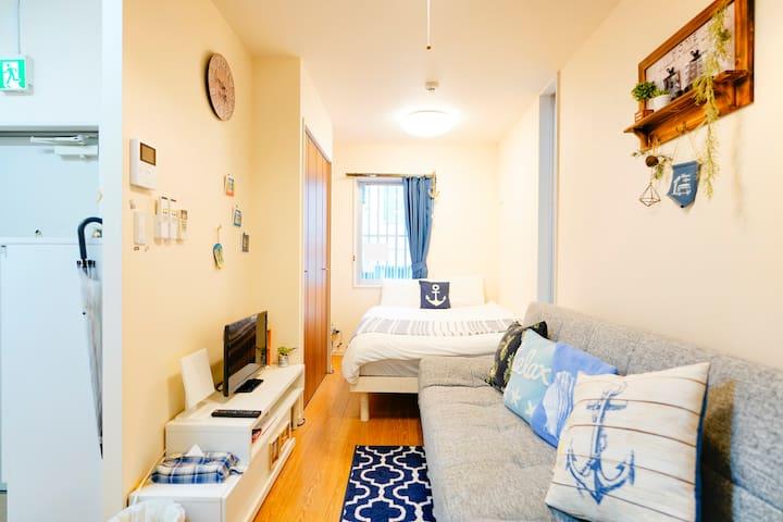 102号室 【新築】国際通りまで徒歩10分! New Property!Great location