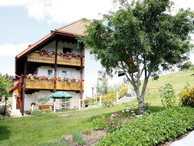 Gästehaus Feldbergblick, (Todtnau-Herrenschwand), Ferienwohnung Himmelsleiter, 65qm, 1 Schlafzimmer, max. 4 Personen