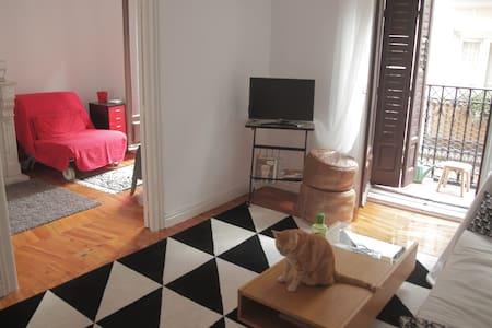 Sunny room in lavapiés-antón martín - Madrid - Apartment