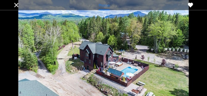 Beautiful home in the heart of lake placid.