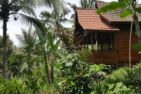 Wooden house in Ubud #Laksmi - Payangan