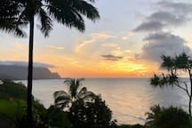 Sunset views!