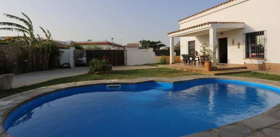 Chalet con piscina - Conil de la Frontera - Chalet