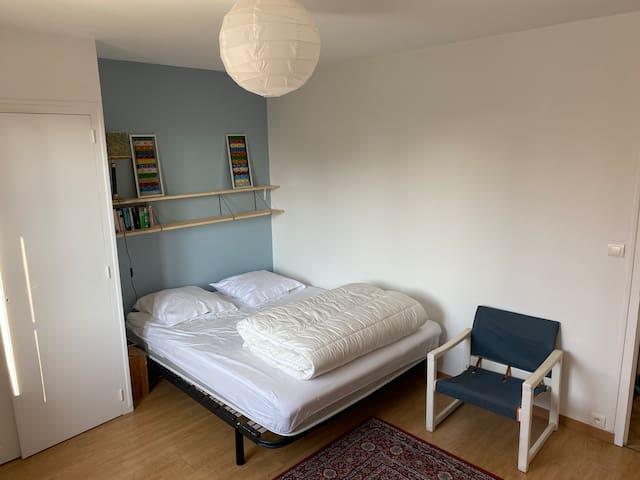 Chambre 1, un lit double 160