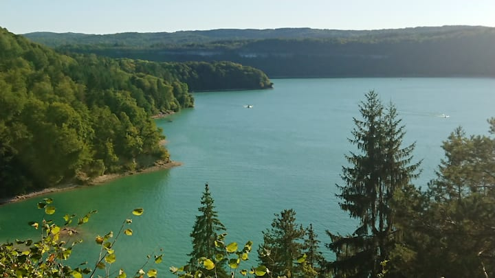 Le petit Maisoulin 3* Jura Lac de Vouglans
