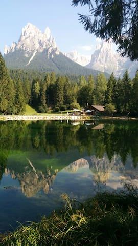 Reflections lake Welsperg