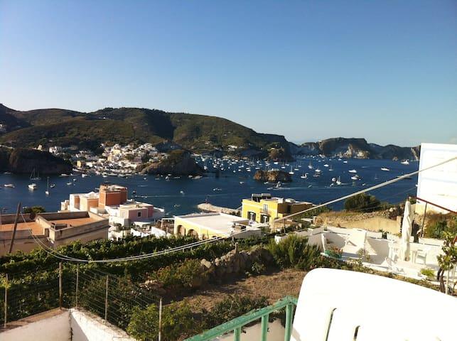 Ponza Porto - grazioso monolocale con vista mare