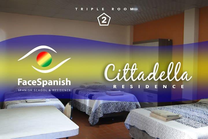 Cittadella Hostal / TRIPLE Room 2