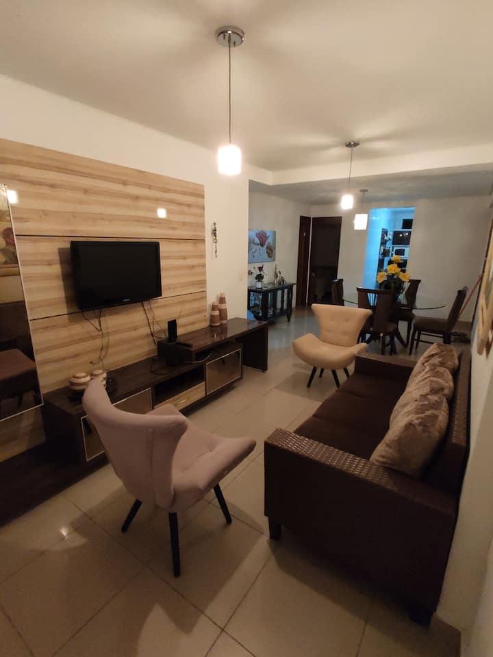 Apartamento completo na melhor área de Tambaú