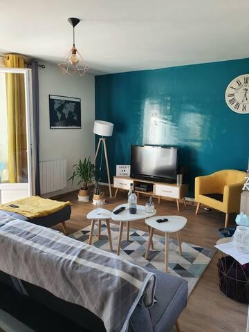 Chambre privée à louer proche du château de Saumur