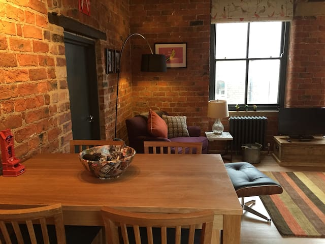 New York style apartment in the centre of York - York - Leilighet