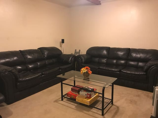 Entire basement w/ private entrance, outside of DC