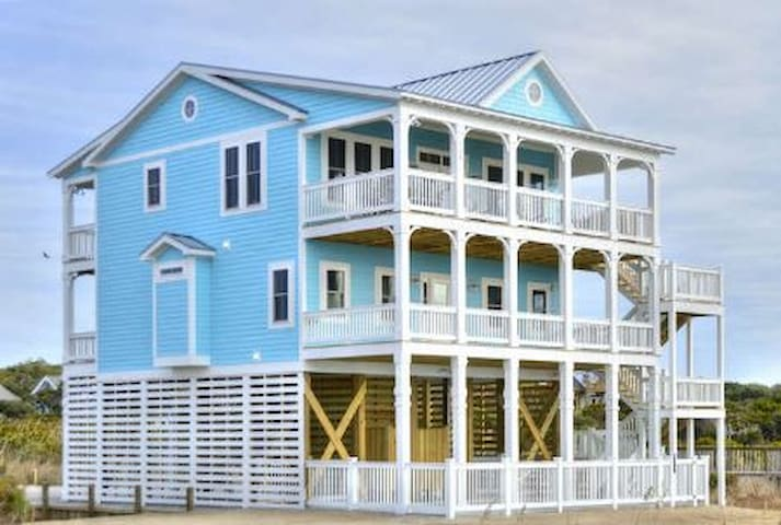 Bridgewater-PRIVACY!!! ON THE BEACH!!! 5 Bedrooms/3.5 Bath/Sleeps 10 with Private POOL!!!