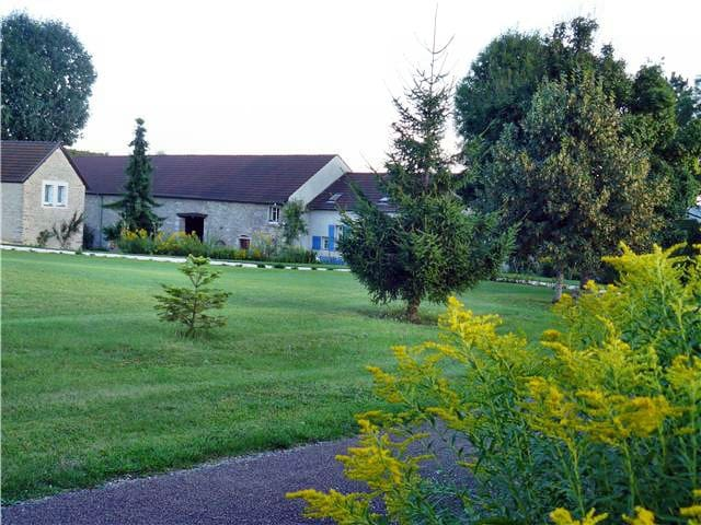 Bergerie, Meublé tourisme 3 étoiles, pleine nature - Lantenay