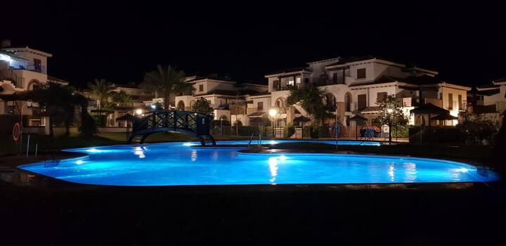 Al-Andalus Thalassa V-Bajo, terraza,2 dorm, AC
