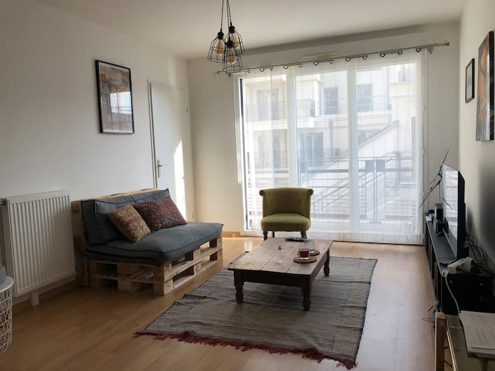 Paris - Cosy Flat Fully Equipped