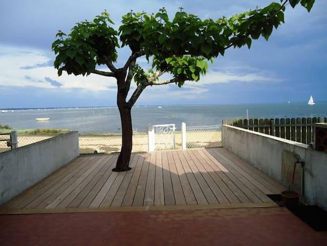 Strandhaus für 6 Pers direkt am Bassin d'Arcachon - Lège-Cap-Ferret - Hus