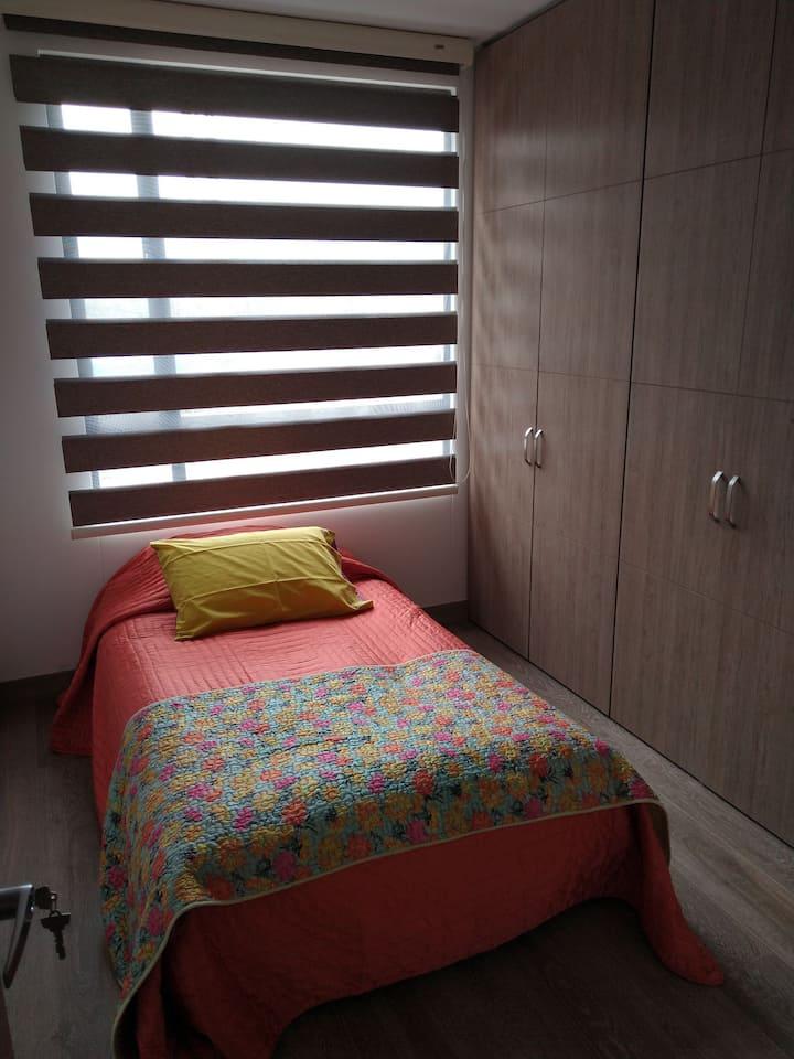 Agradable Habitación Sencilla Bogotá Norte