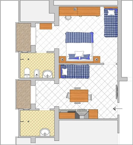 Bilocale in residence (106) - San Mauro A Mare - Apartemen