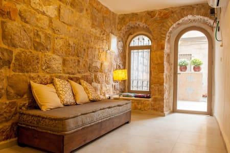 Authentic Jerusalem Stone House - City Center - Jerusalem - Leilighet