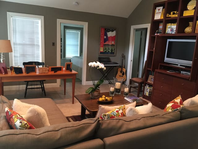 Tarrytown guesthouse just minutes from downtown - Austin