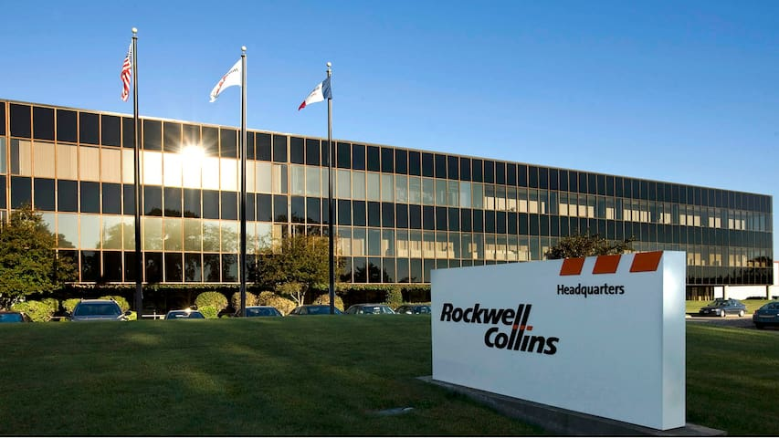 Rockwell Collins Campus is less than 3 miles away