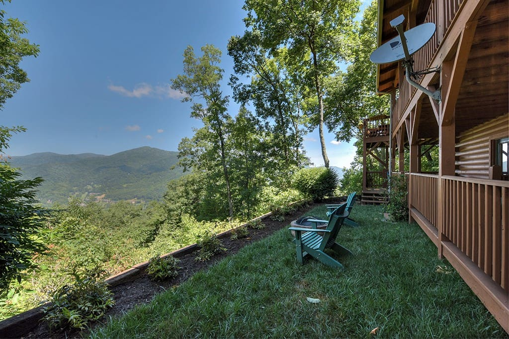 Soaring Eagle Luxury Vacation Log Home Cabins For Rent